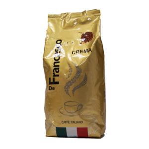Кофе в зернах De Francesco Crema