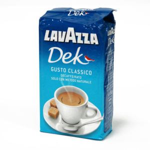 КОФЕ МОЛОТЫЙ LAVAZZA DEC DECAFFEINATO БЕЗ КОФЕИНА, 250 Г