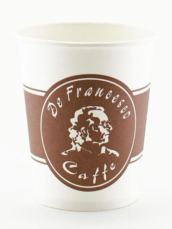 Бумажные цветные стаканчики De Francesco, 175 мл.
