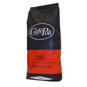 Кофе в зернах Poli Bar