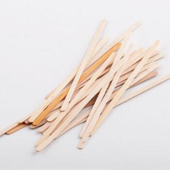Мешалки деревянные одноразовые, 120 мм