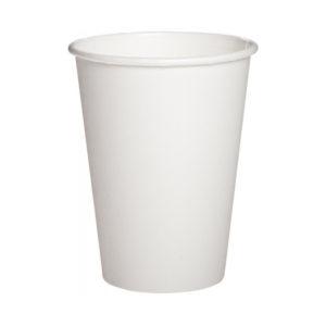 Бумажный белый стакан 320 мл