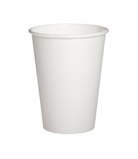 Бумажный белый стакан 175 мл