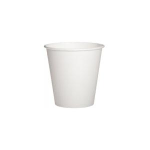белый бумажный стаканчик110