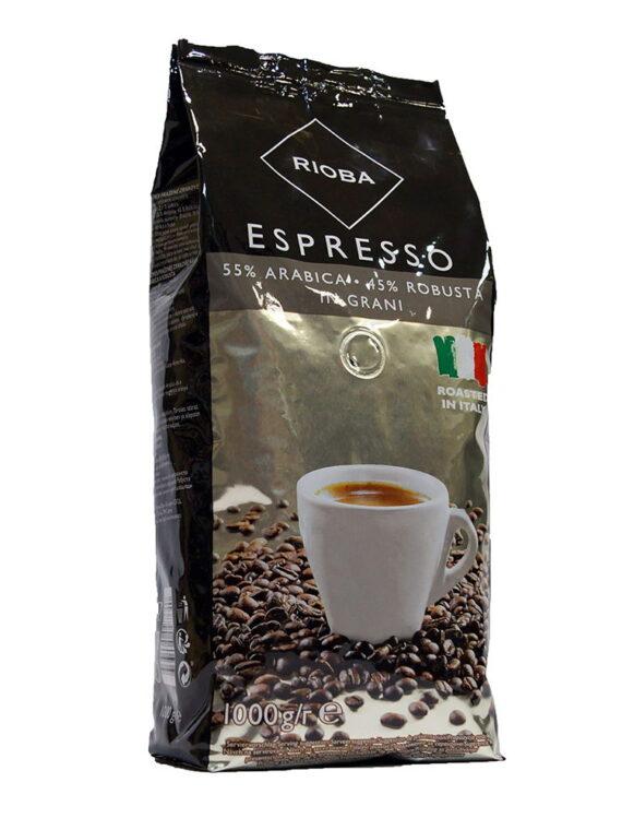 Кофе Rioba в зернах Espresso (Silver ) 1кг