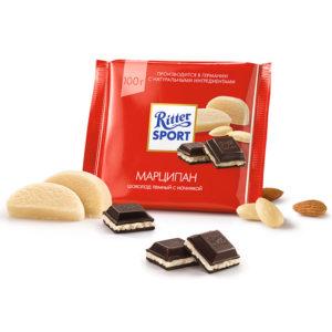 Шоколад Ritter Sport Marcepan
