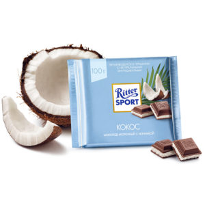 Шоколад Ritter sport Kokos 100g