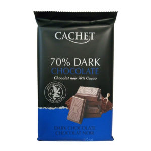Шоколад Cachet Extra dark chocolate 70% Cacao 300