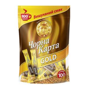 Кофе растворимый Черная Карта Gold