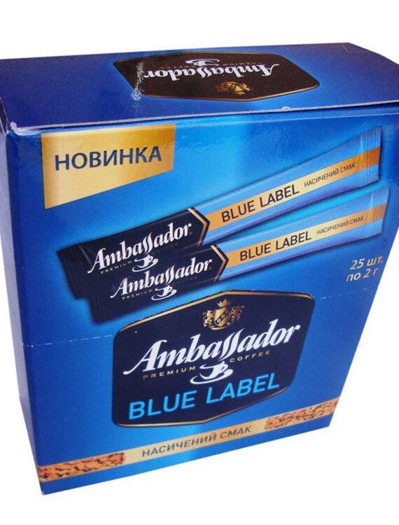Кофе Ambassador Blue Label стики