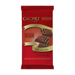 Шоколад Cachet 32% Milk Chocolate