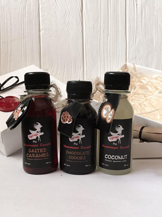 Соленая Карамель-Шоколадное Печенье - Кокос