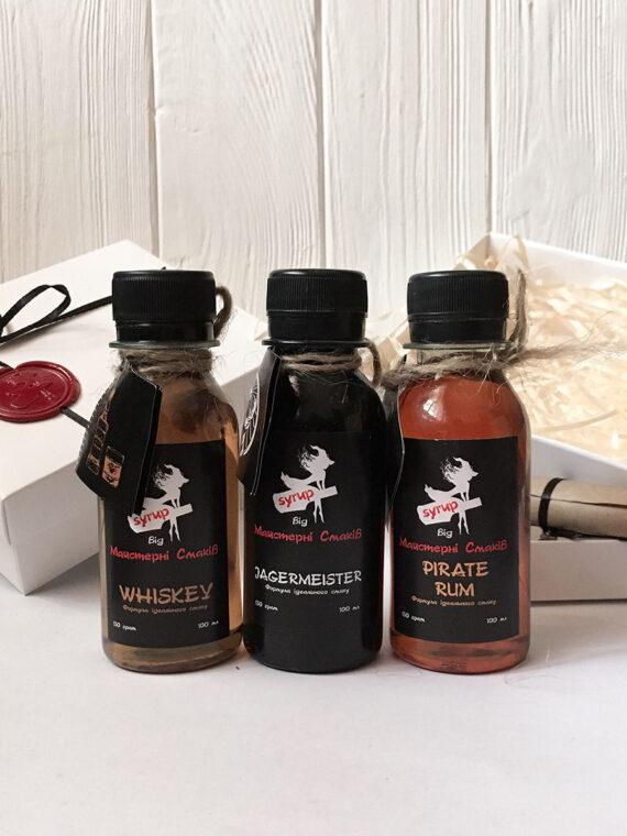 Виски-Егермейстер-Пиратский Ром