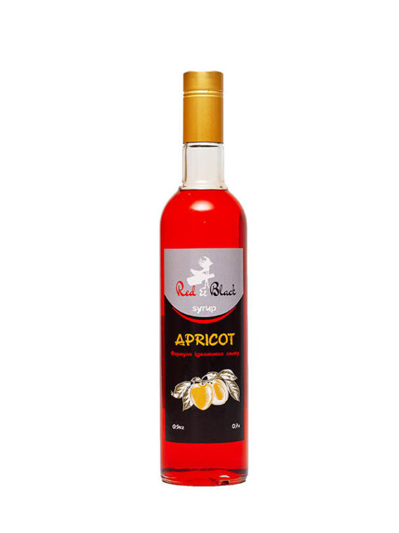 Сироп абрикос Red&Black