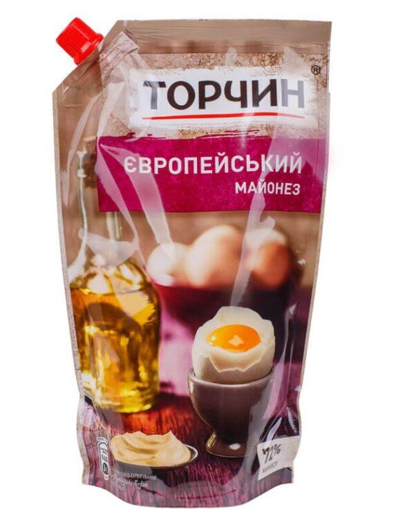 МАЙОНЕЗ ТОРЧИН ЕВРОПЕЙСКИЙ 580 Г