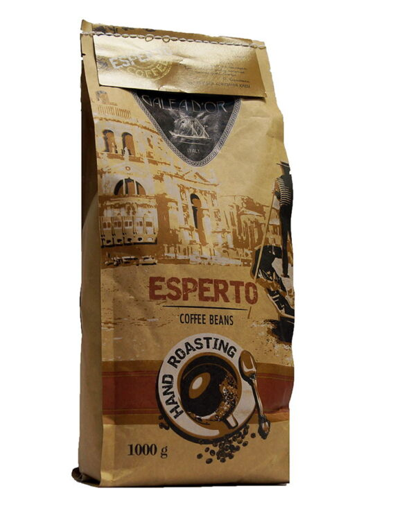 Кофе в зернах Galeador Esperto авторский купаж, 1кг