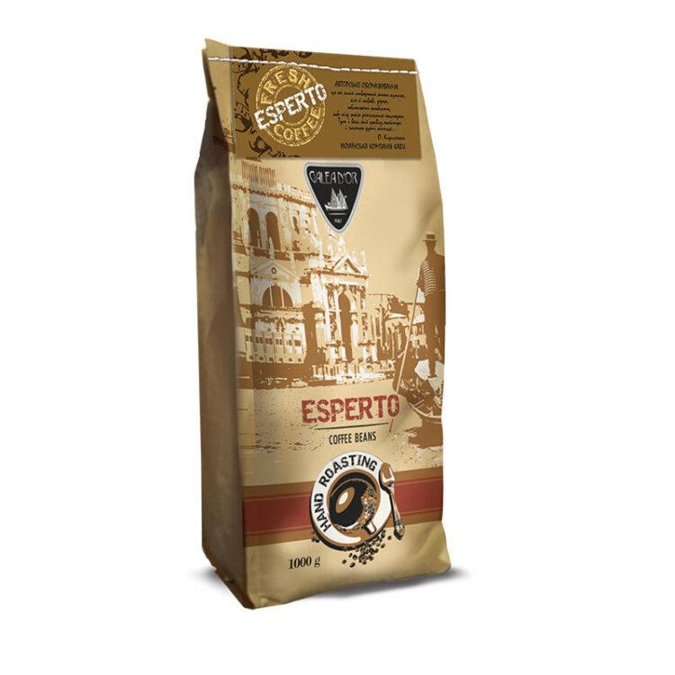 Кофе в зернах Galeador Esperto