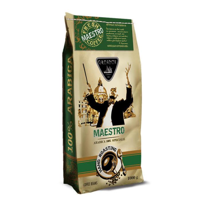 Кофе в зернах Galeador Maestro