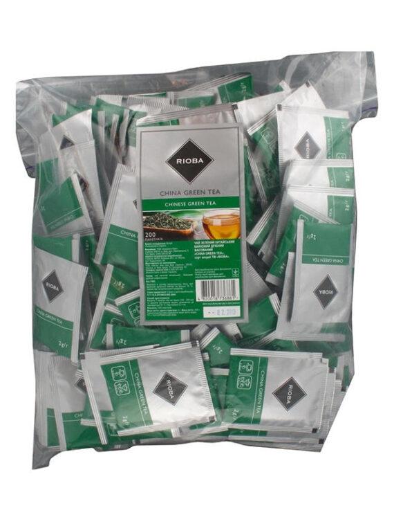 чай зеленый пакетированный риоба