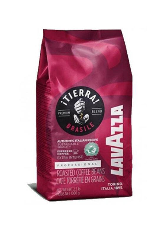 Кофе в зернах Lavazza Tierra Brazil Extra Intense 1 кг.