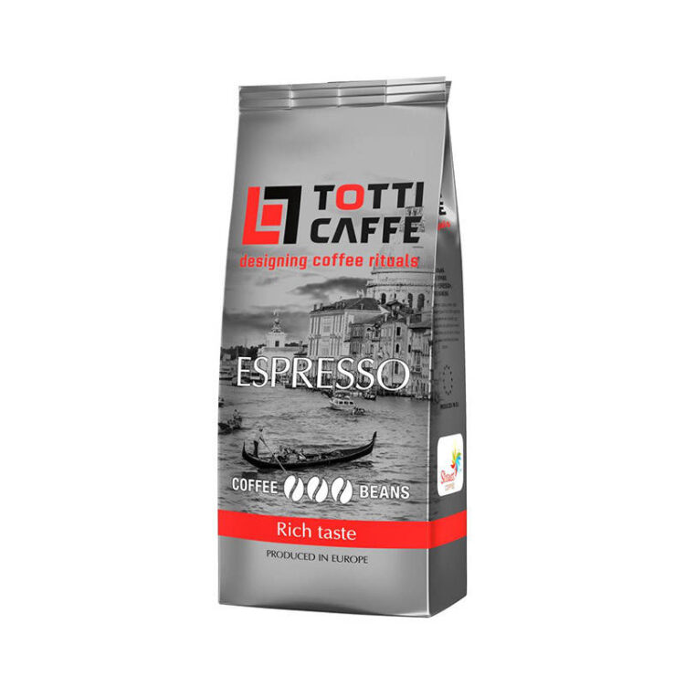 кофе в зернах Тотти Кафе Еспрессо, 1 кг